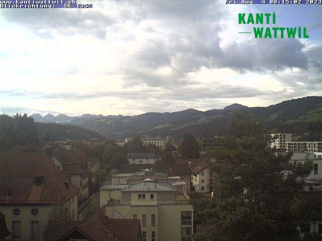 Wattwil Kanti nach Südost